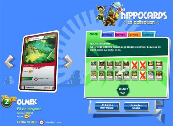 jeu de cartes collectionner hippocards hippopotamus