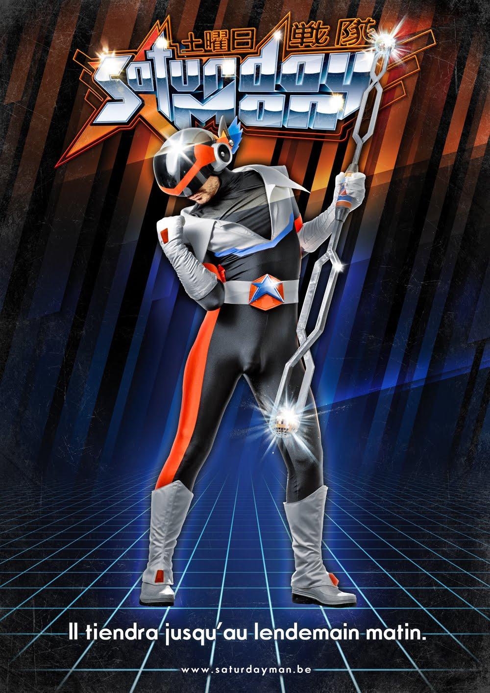 SaturdayMan les Sentai Belges avec les voix de Dragon Ball !