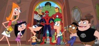 Disney invite Marvel : Avengers dans Phineas et Ferb