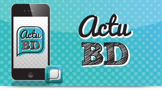 Projet ActuBD : L'application pour gérer vos BD