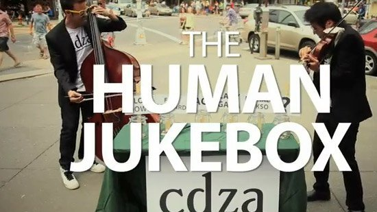 The Human Jukebox par CDZA