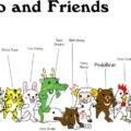 Pedobear and friends