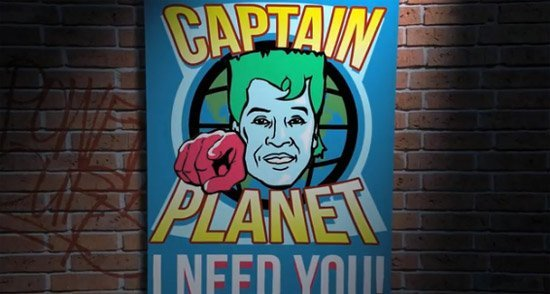 Parodie de Captain Planet