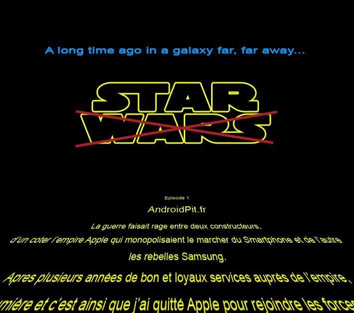 Dans une galaxy lointaine...