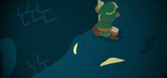 Dessin animé Zelda 1er donjon