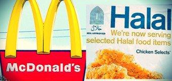 Mes amis ne mangent plus Halal depuis longtemps...