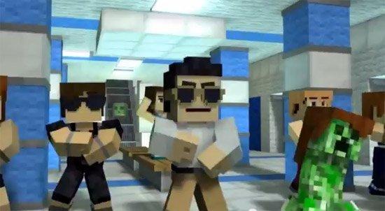 Minecraft Style - Parodie de gangnam style