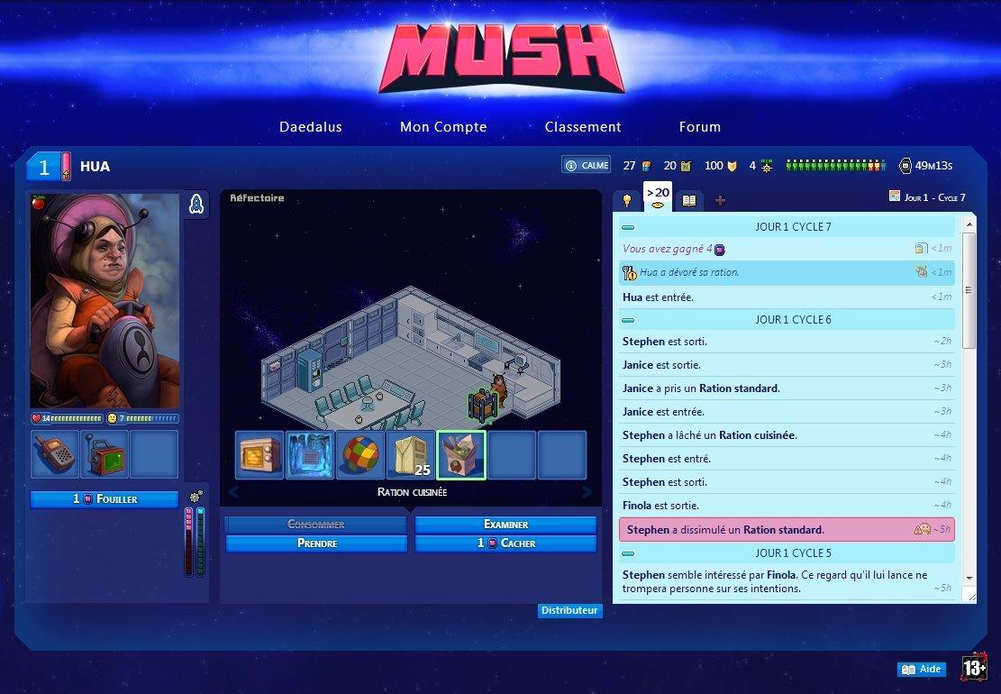 Mush, le jeu de navigateur qui augmente votre productivité #4