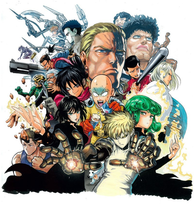 One punch man personnages