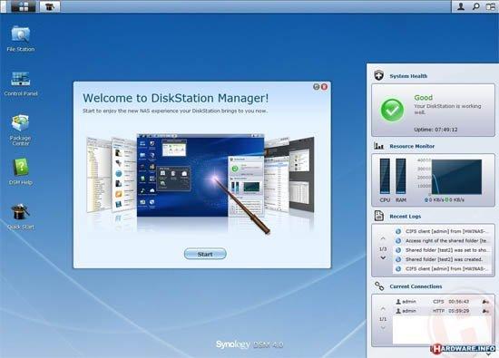 synology logiciel dsm manager