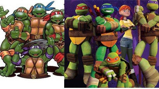 Dossier ces dessins anim s interg n rationnels a mon for Repere des tortue ninja