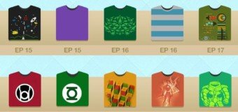 Les TeeShirts de Sheldon (The Big Bang Theory)