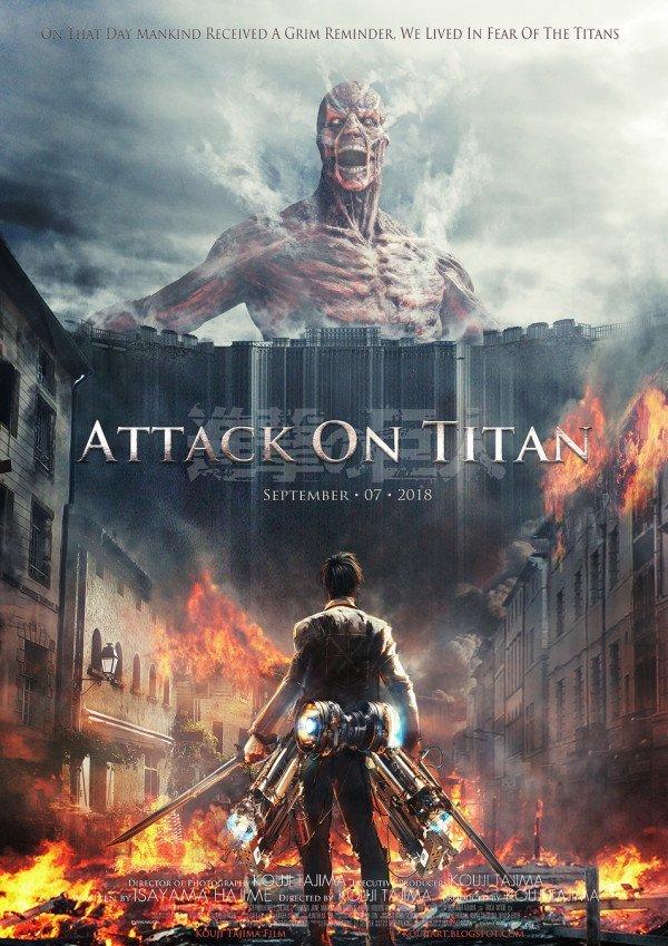 L'attaque des Titans (Shingeki no Kyojin) le film live