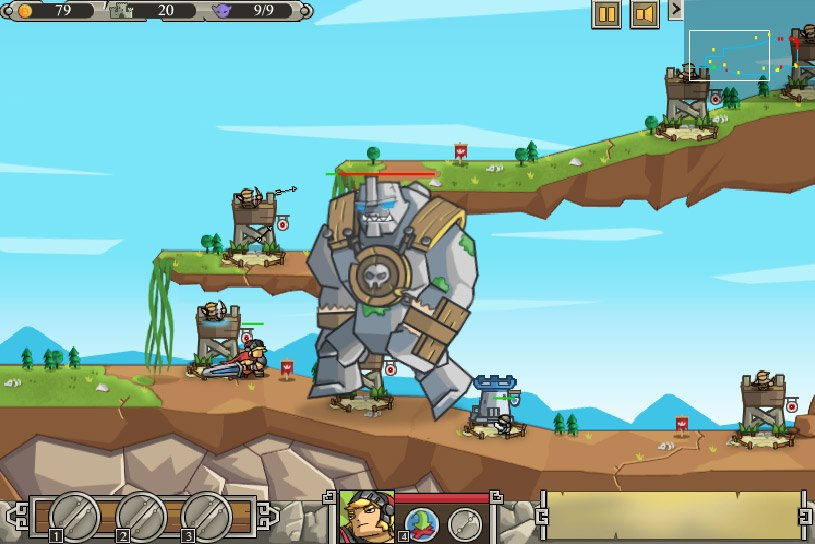 jeux flash tower defence