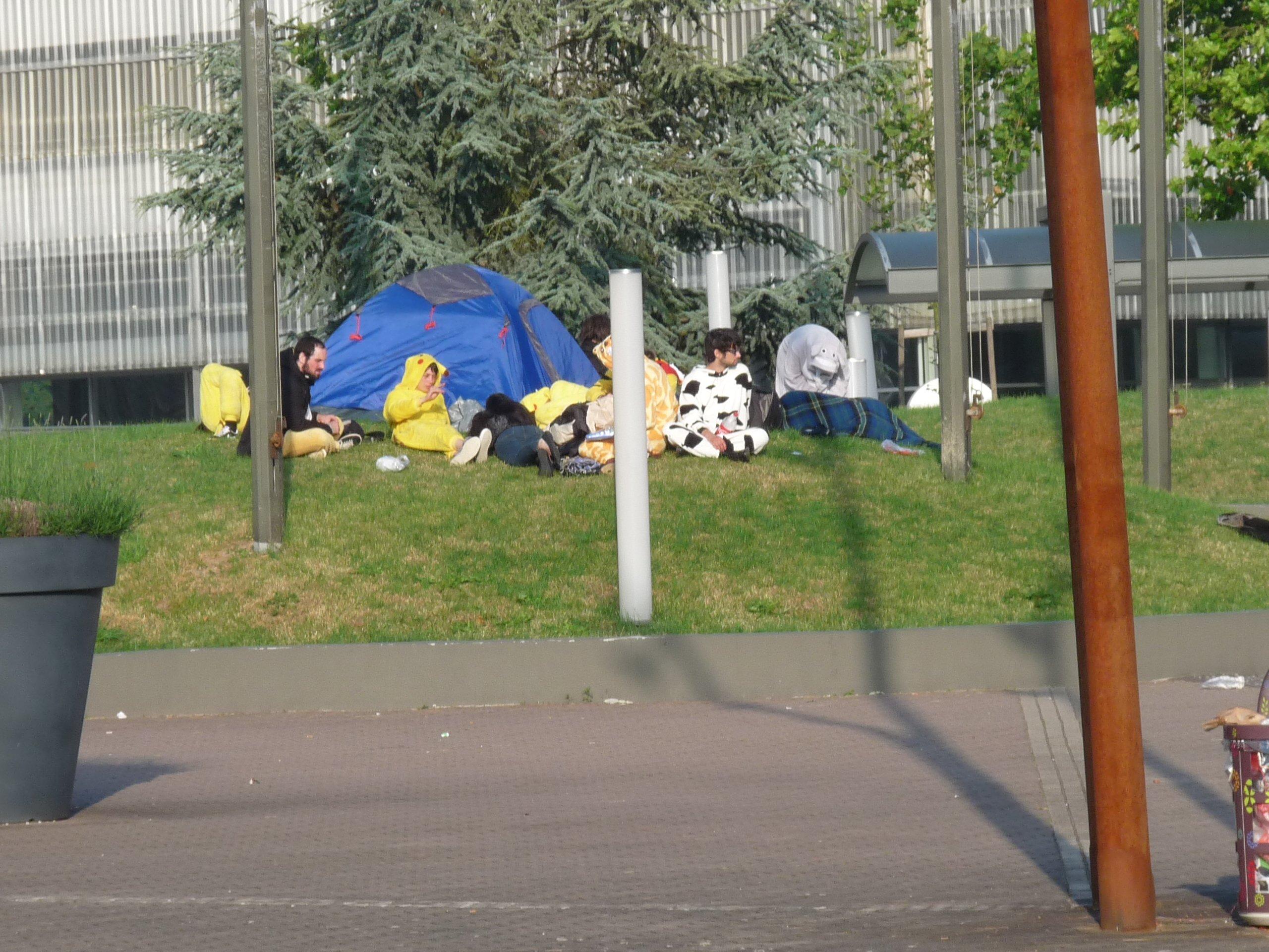 wild pikachus wake up - Japan Expo 2013