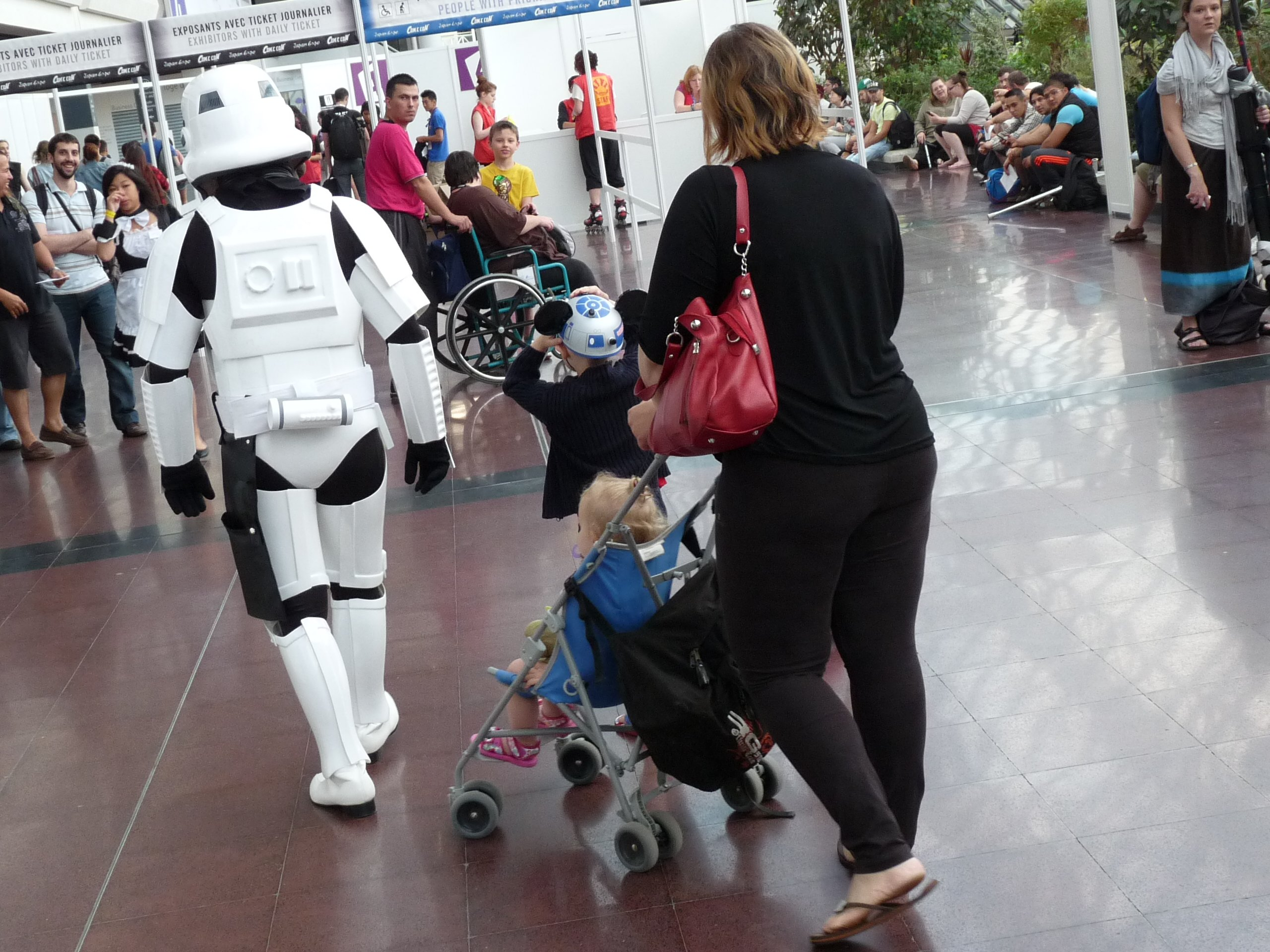 stormtrooper family - Japan Expo 2013