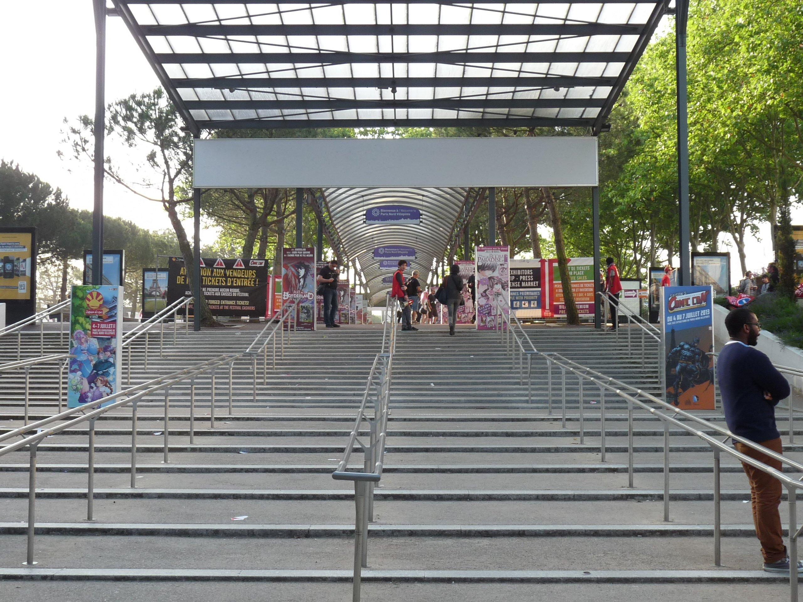 empty RER - Japan Expo 2013
