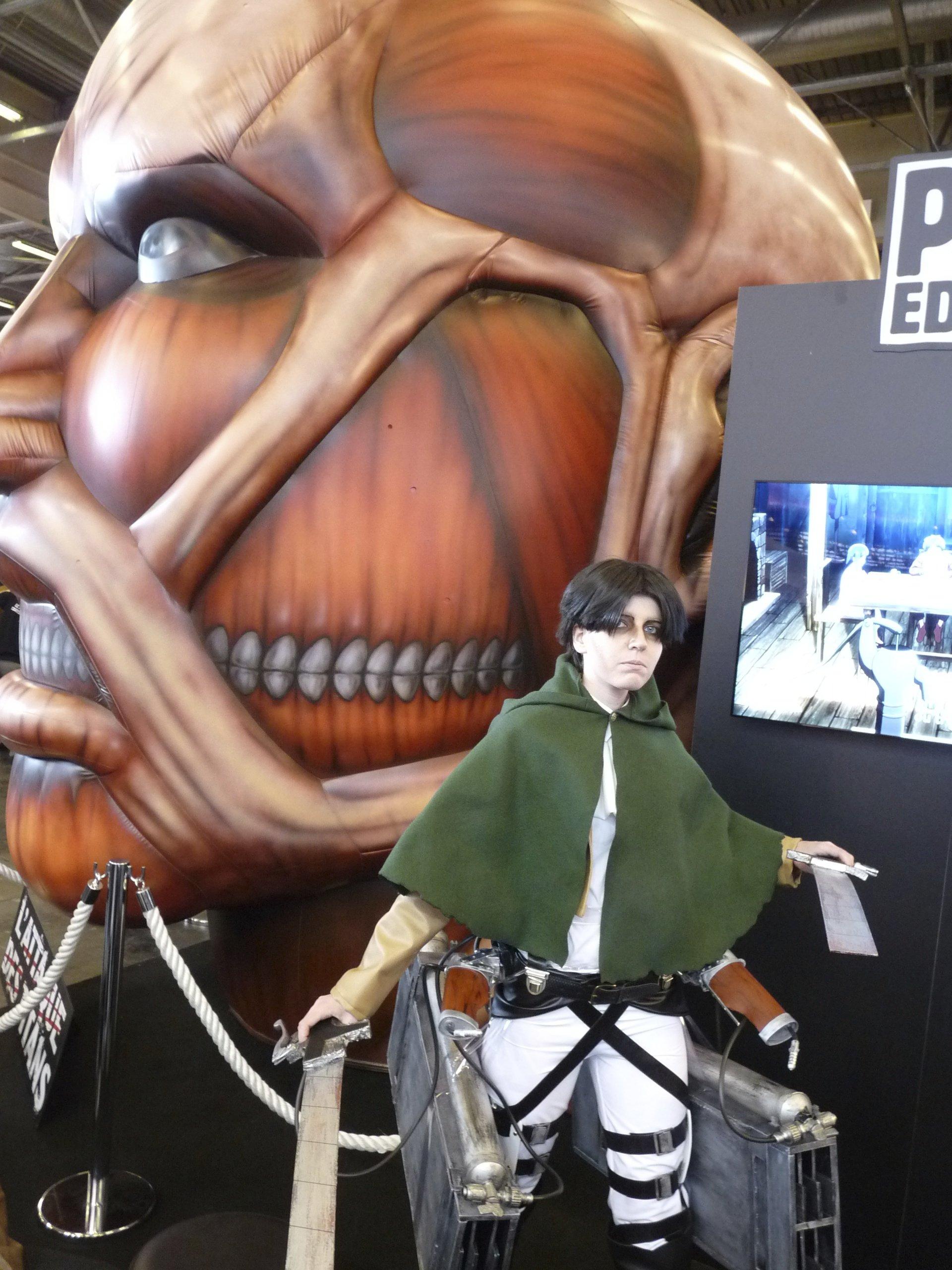 attack on titan - Japan Expo 2013
