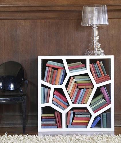 bibliotheque_nid_abeille_originale_design.