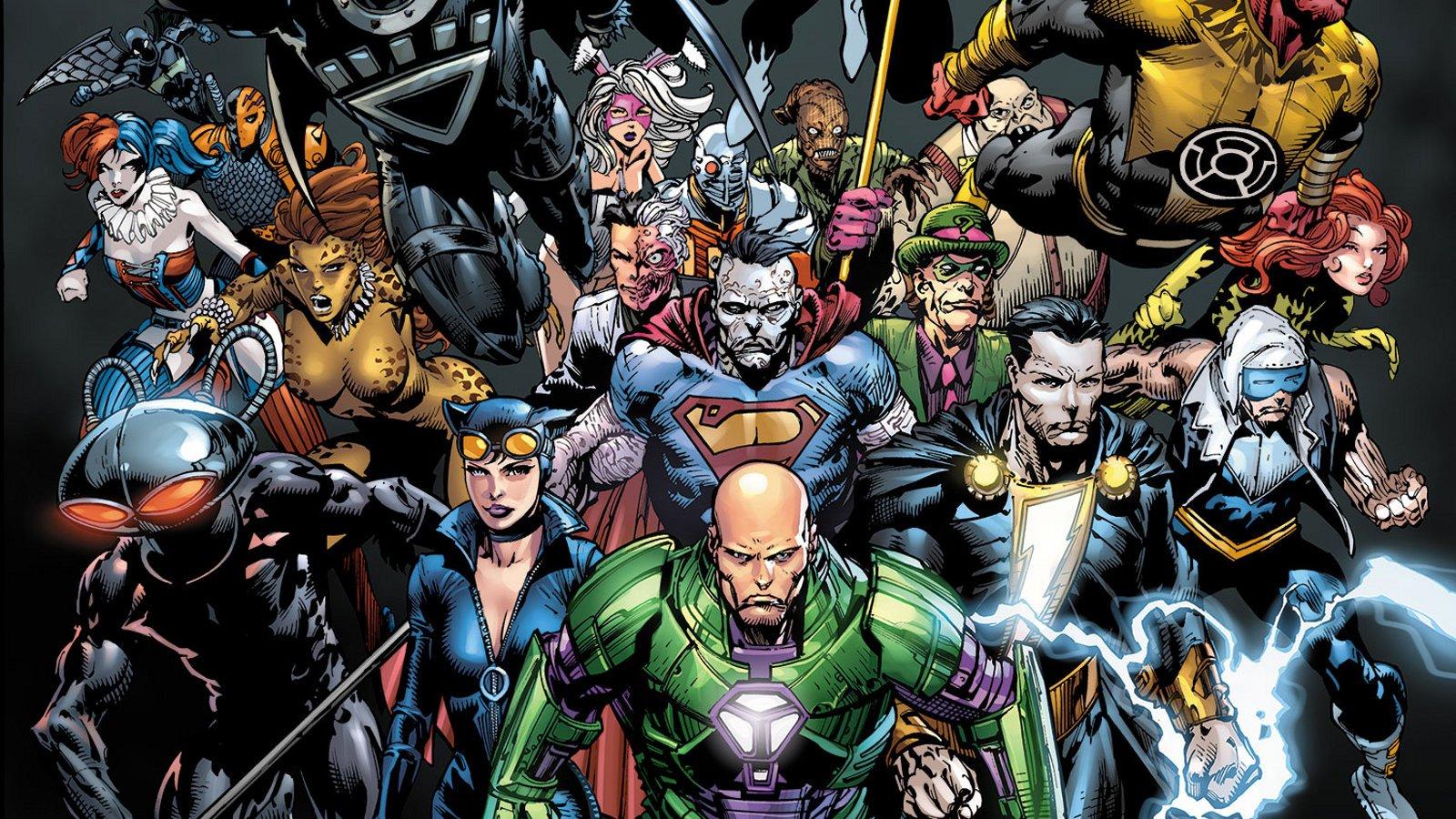 FOREVER EVIL : No more Heroes chez DC Comics
