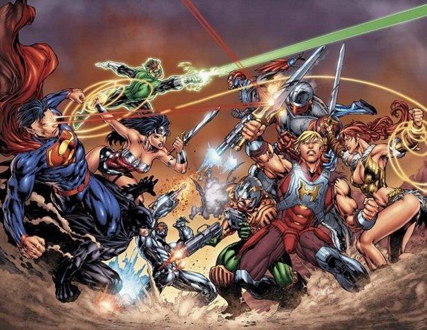 Quand DC COMICS rencontre MUSCLOR