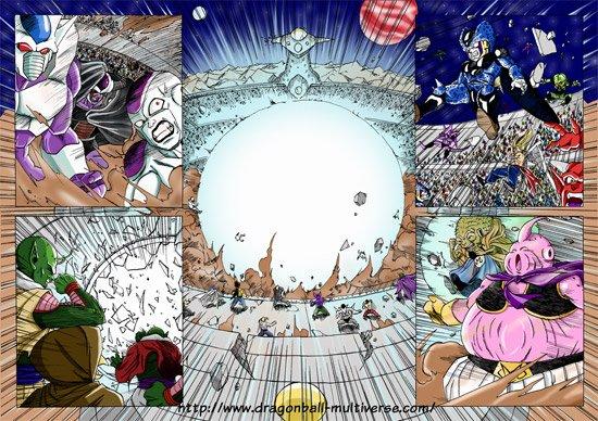 Fan BD : Dragon Ball multiverse