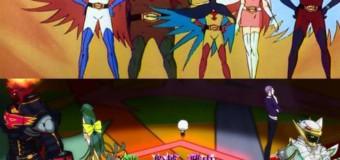 Gatchaman Crowds, le retour de la bataille des planètes, quarante ans après