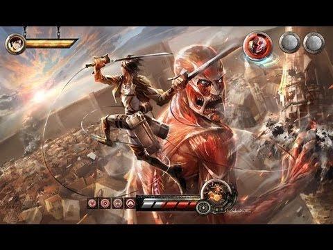 L'attaque des Titans (Shingeki no Kyojin) sur 3DS