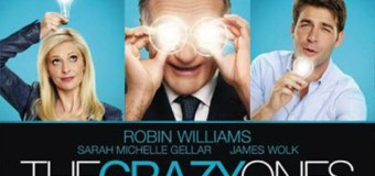 The Crazy Ones = Robin Williams + Sarah Michelle Gellar