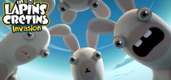 Les lapins crétins arrivent sur FRANCE 3