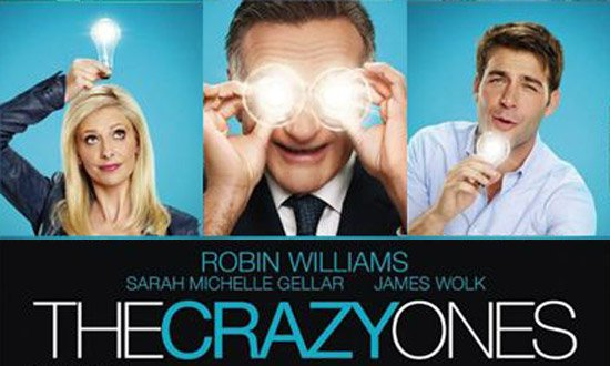 The Crazy Ones = Robin Williams + Sarah Michelle Gellar
