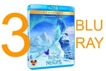Gagnez le Blu Ray du films Disney : Frozen - La Reine des neiges