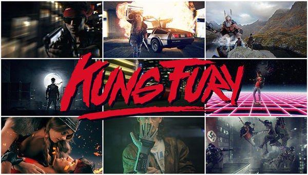Kung Fury - Le film d'action-policier-comédie-fantastique ˝type année 80˝