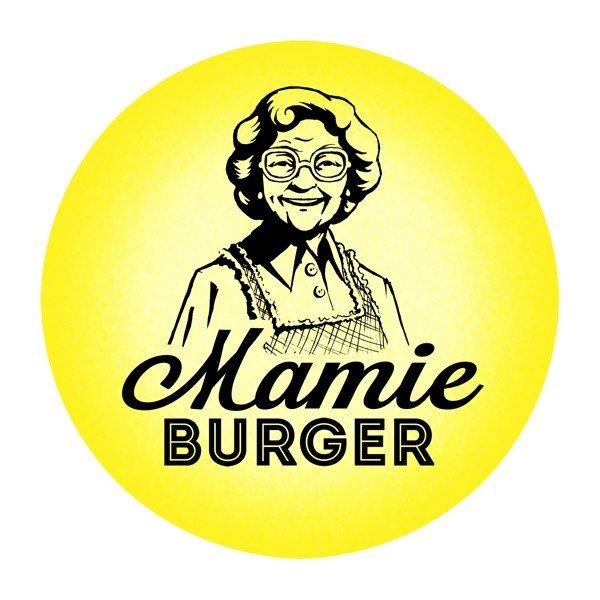 mamie burger restaurant logo