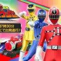 Ressha Sentai Toqger power ranger train