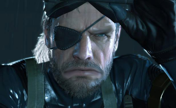 snake modifiey MGS ground Zeroes