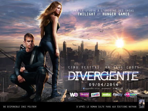 Divergente affiche