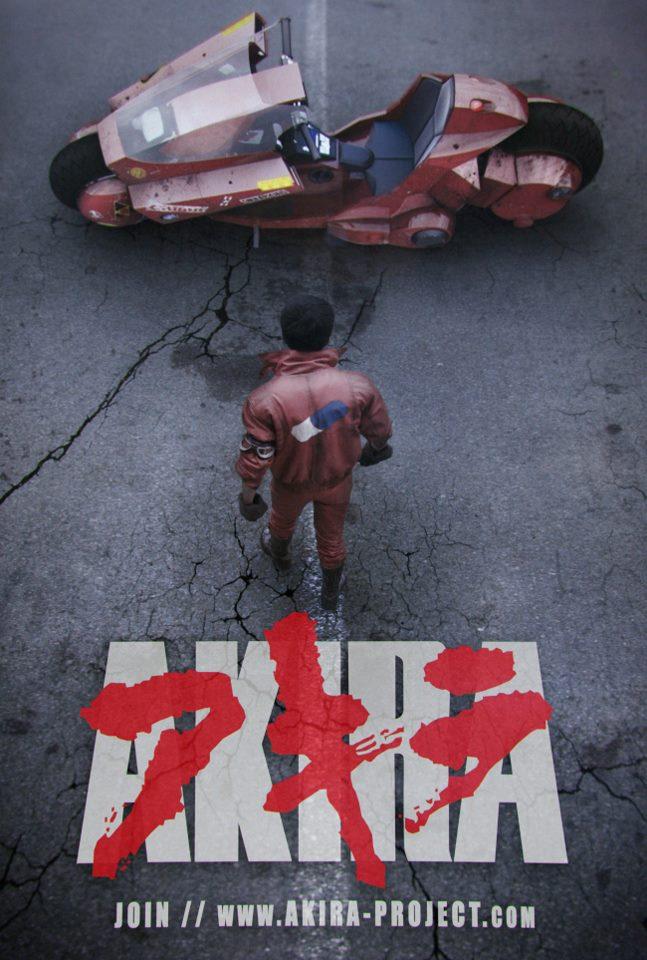 Incroyable bande annonce d'un fan film basé sur le manga Akira !