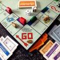 Un aperèu du plateau de jeu du Monopoly