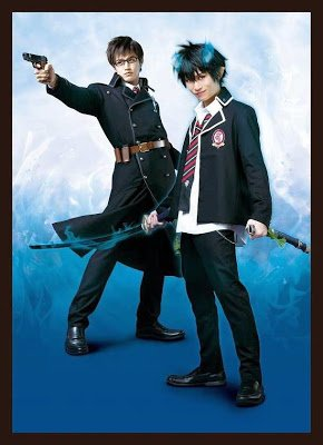 blue exorcist comedie musicale