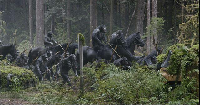 La planète des singes : l'affrontement #2