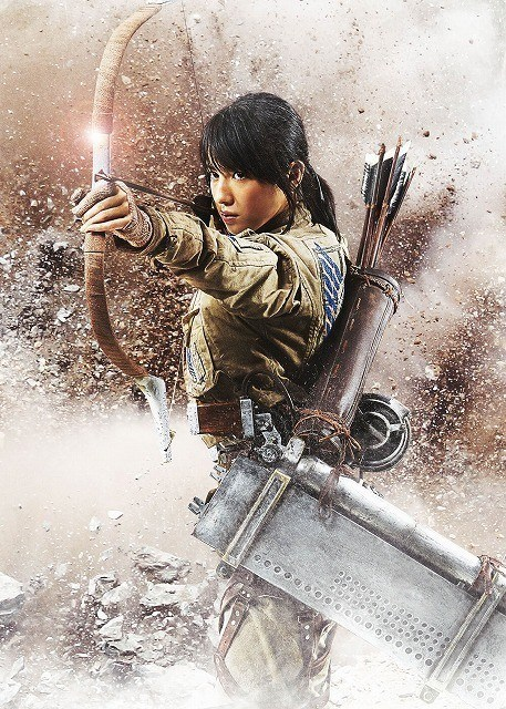 Premiers visuels du film live L'attaque des Titans (Shingeki no Kyojin) #12