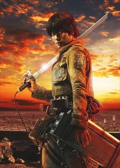 Premiers visuels du film live L'attaque des Titans (Shingeki no Kyojin)