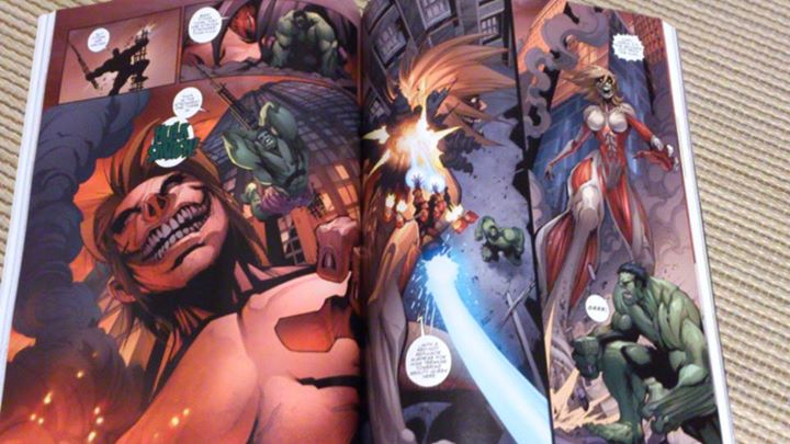 L'attaque des titans VS Avengers : Attack on Avengers #5