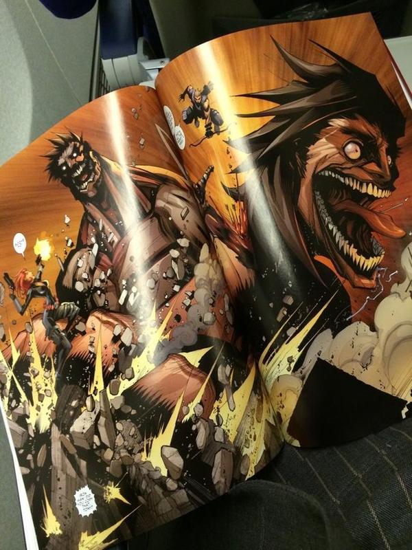 L'attaque des titans VS Avengers : Attack on Avengers #3