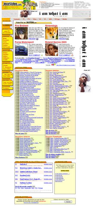 jeuxvideo.com 2005