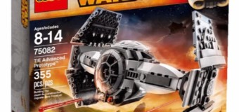 Gagnez un Lego Star Wars – Tie Advanced Prototype