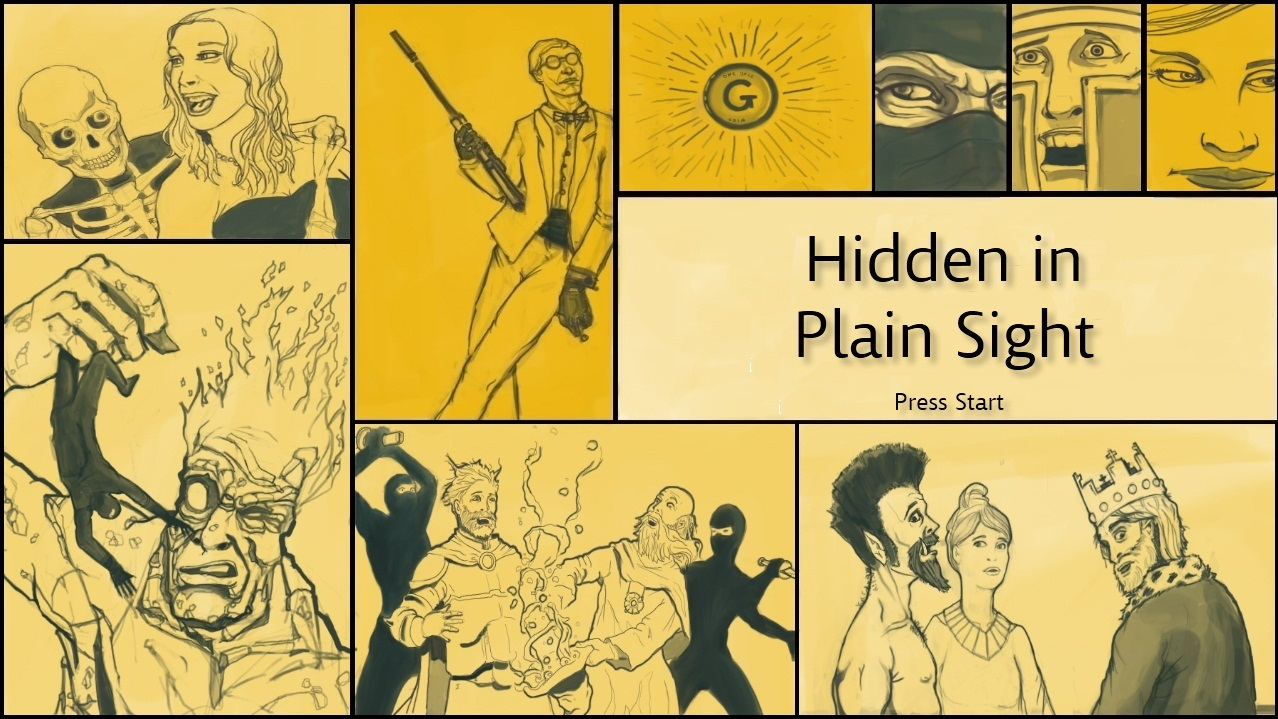 Hidden in plain sight -- de la parano jouissive !