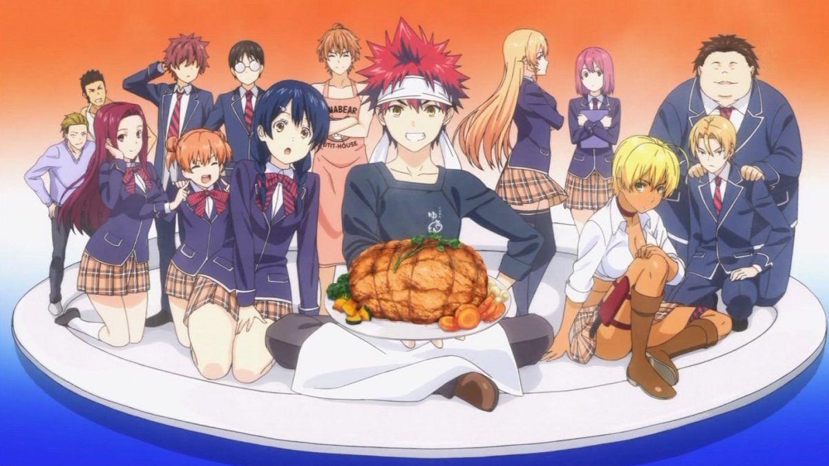 Shogeki No Soma Food Wars Le Manga Qui Donne Faim