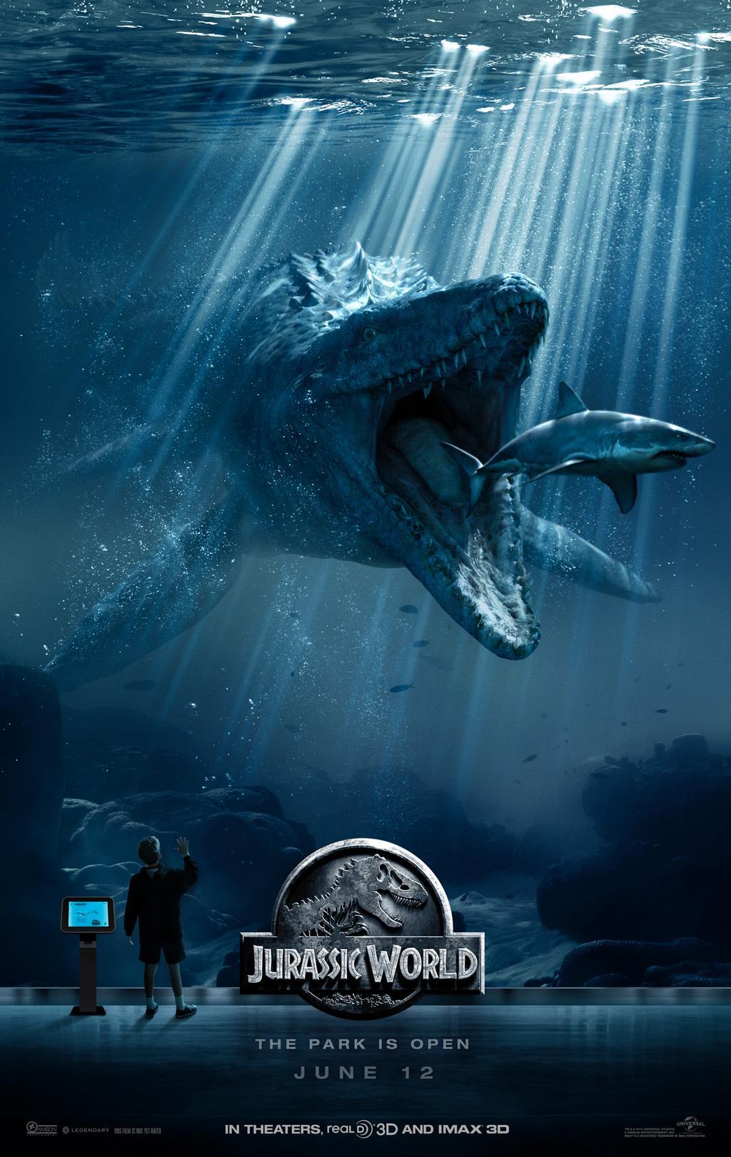 L'image du film présentant le dinosaure sous-marin